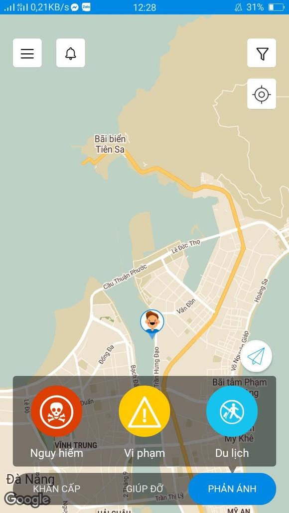 Phản ánh ý kiến về Đà Nẵng qua ứng dụng 'KuuHo' ảnh 1
