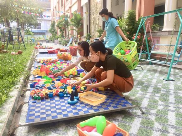 Đà Nẵng: Các trường mầm non tất bật đón các em quay trở lại ảnh 1
