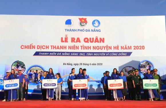 Đà Nẵng ra quân chiến dịch thanh niên tình nguyện hè năm 2020 ảnh 1