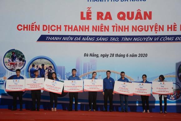 Đà Nẵng ra quân chiến dịch thanh niên tình nguyện hè năm 2020 ảnh 3