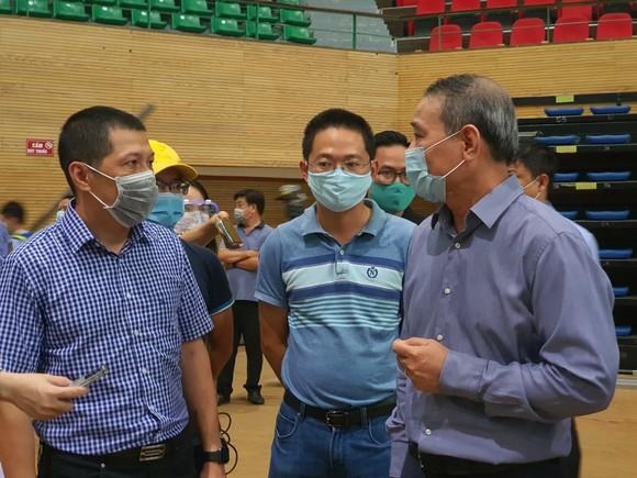 Đà Nẵng khẩn trương hoàn thành Bệnh viện dã chiến tại cung thể thao Tiên Sơn ảnh 1
