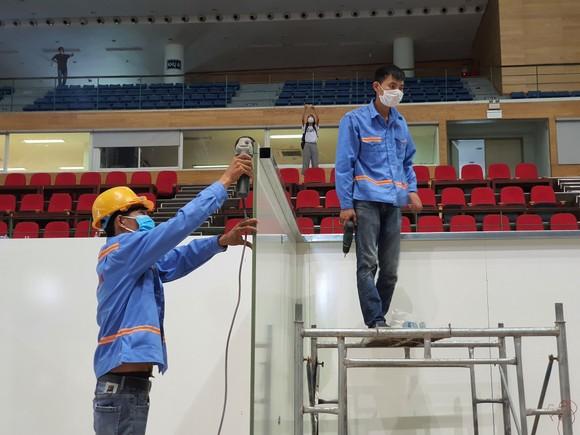 Đà Nẵng khẩn trương hoàn thành Bệnh viện dã chiến tại cung thể thao Tiên Sơn ảnh 4
