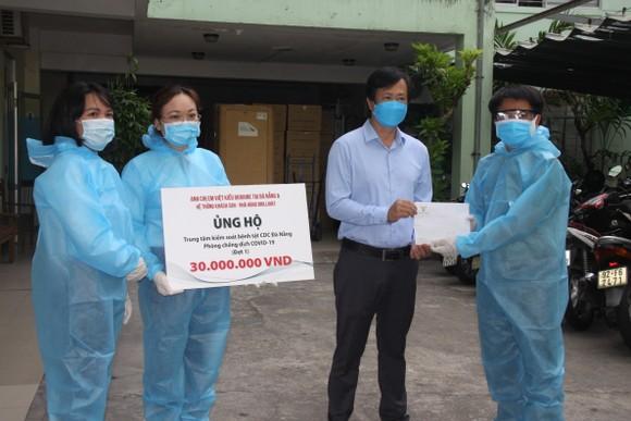 500 triệu đồng ủng hộ các lực lượng tuyến đầu chống dịch ảnh 2