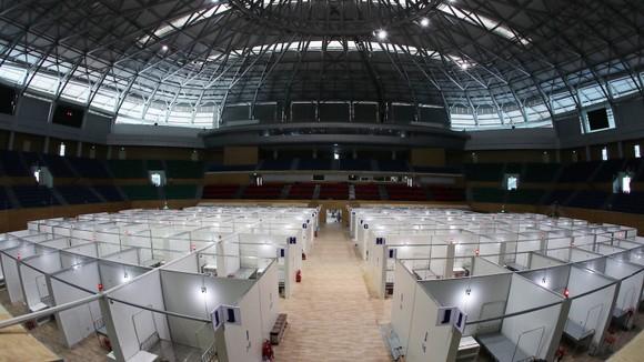 Bệnh viện dã chiến TP Đà Nẵng tại Cung thể thao Tiên Sơn