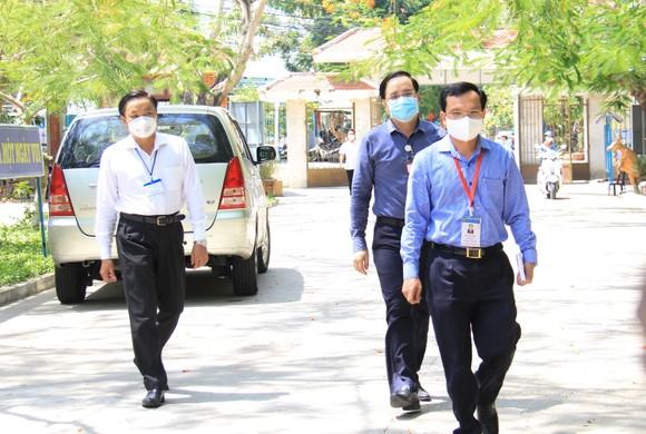 Đà Nẵng: Bộ GD-ĐT kiểm tra công tác tổ chức Kỳ thi tốt nghiệp THPT đợt 2 ảnh 1