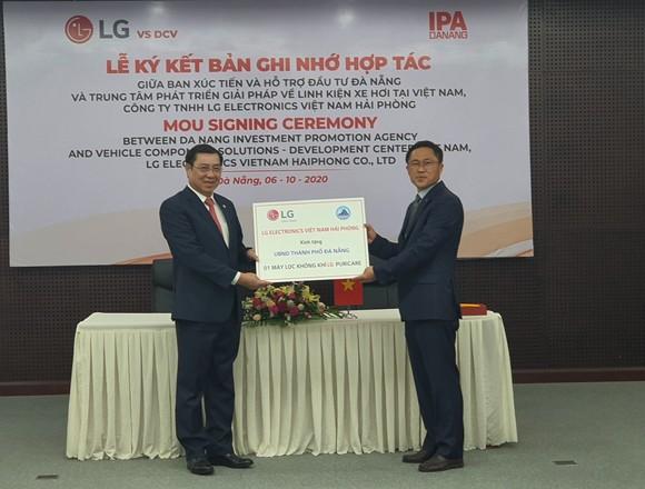 Đà Nẵng sẽ là cứ điểm để thành lập Trung tâm nghiên cứu & phát triển CNTT của tập đoàn LG ảnh 1