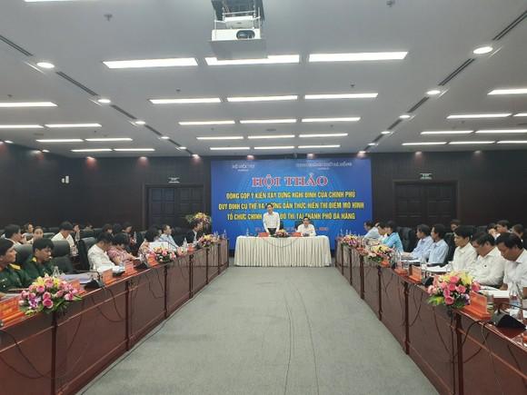 Nhiều vấn đề cần xem xét về thí điểm tổ chức mô hình chính quyền đô thị tại TP Đà Nẵng ảnh 1