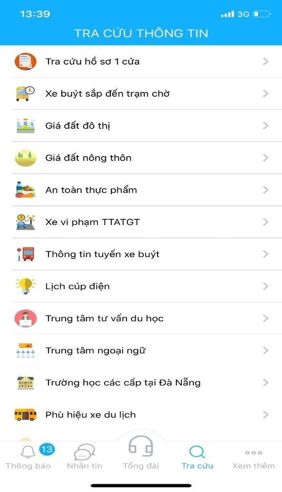 Thí điểm ứng dụng gọi điện thoại miễn phí đến Tổng đài 1022 Đà Nẵng  ảnh 1