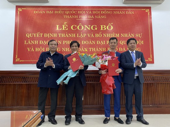 Đà Nẵng: Bổ nhiệm Giám đốc Sở VH-TT và Bí thư Quận ủy Cẩm Lệ ảnh 2