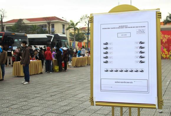 Đà Nẵng hỗ trợ xe đưa 3.000 lao động về quê đón tết ảnh 5