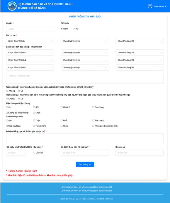 Đà Nẵng triển khai ứng dụng quản lý ra vào thành phố ảnh 1