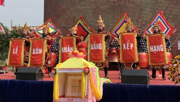 Cụm di tích lịch sử Nam Ô đón nhận bằng xếp hạng di tích cấp thành phố ảnh 1