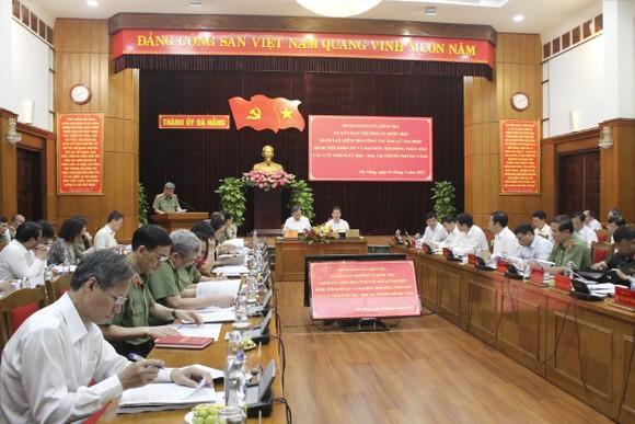 Đà Nẵng: Đảm bảo an toàn cho công tác bầu cử ảnh 2
