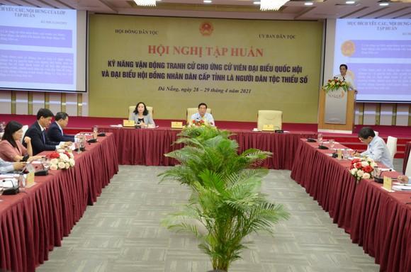 Tập huấn kỹ năng tranh cử cho ứng cử viên dân tộc thiểu số khu vực phía Nam, miền Trung - Tây Nguyên ảnh 1