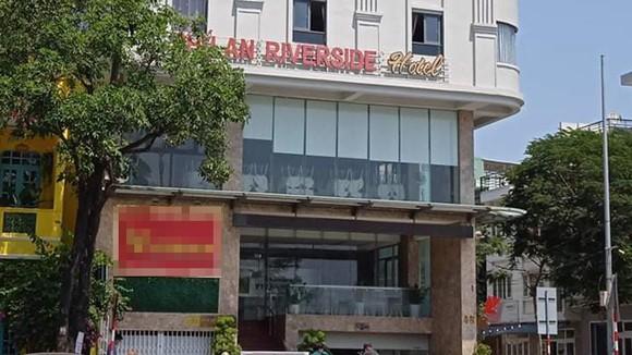 Khách sạn Phú An - nơi ghi nhận có bệnh nhân mắc Covid-19