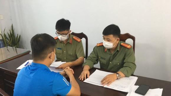 Cơ quan công an triệu tập đối với Nguyễn Văn T.