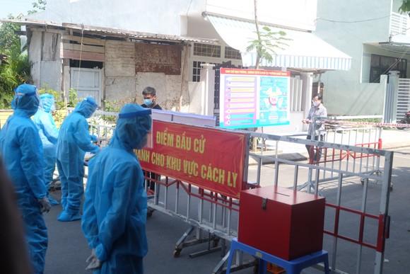 Đà Nẵng diễn tập 4 tình huống bầu cử khi dịch Covid-19 bùng phát ảnh 18