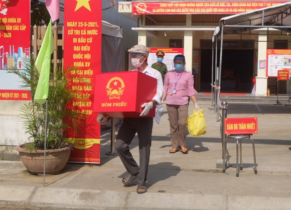 Đà Nẵng diễn tập 4 tình huống bầu cử khi dịch Covid-19 bùng phát ảnh 12