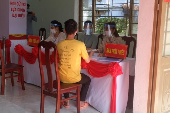 Đà Nẵng diễn tập 4 tình huống bầu cử khi dịch Covid-19 bùng phát ảnh 10