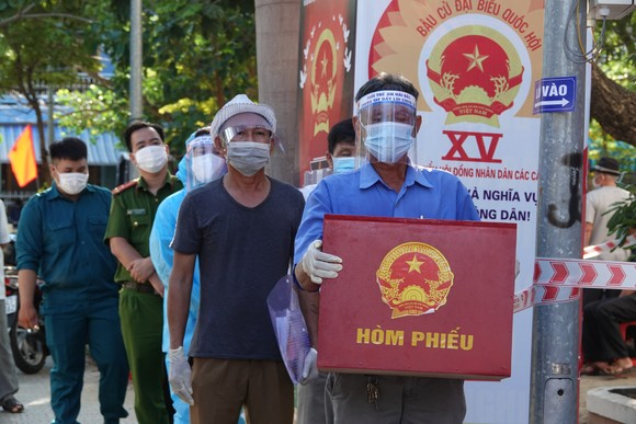 Đà Nẵng: Đảm bảo công tác bầu cử diễn ra an toàn, hiệu quả ảnh 4