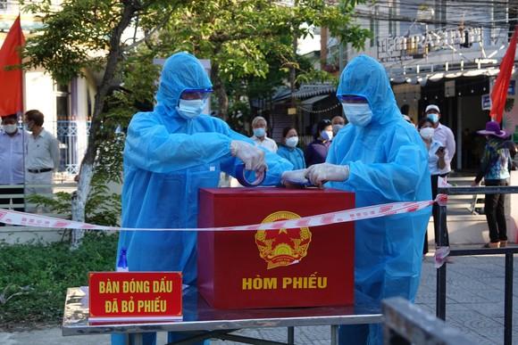 Đà Nẵng: Đảm bảo công tác bầu cử diễn ra an toàn, hiệu quả ảnh 11