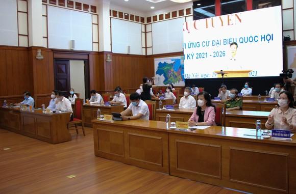Ứng cử viên ở Đà Nẵng vận động bầu cử bằng hình thức trực tuyến ảnh 3