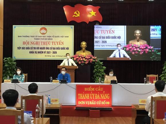 Ứng cử viên ở Đà Nẵng vận động bầu cử bằng hình thức trực tuyến ảnh 1