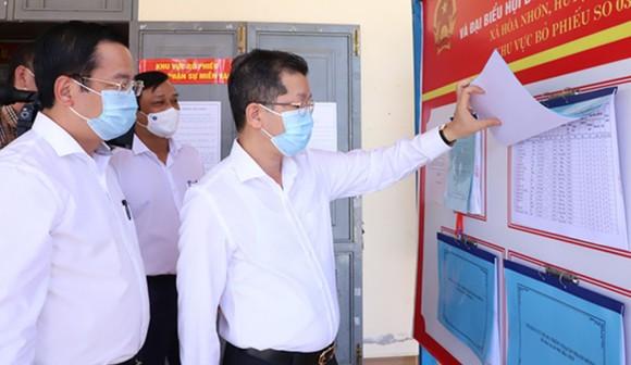 Đa dạng hình thức tuyên truyền bầu cử tại huyện Hòa Vang (TP Đà Nẵng) ảnh 4