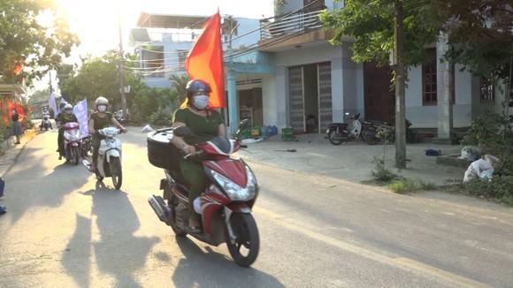 Đa dạng hình thức tuyên truyền bầu cử tại huyện Hòa Vang (TP Đà Nẵng) ảnh 1