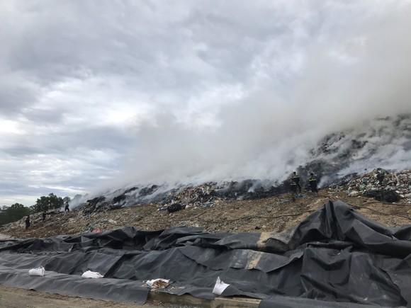 Cháy tại bãi rác lớn nhất TP Đà Nẵng ảnh 1