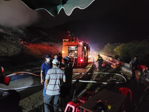 Đã xác định nguyên nhân gây cháy tại bãi rác lớn nhất TP Đà Nẵng ảnh 1