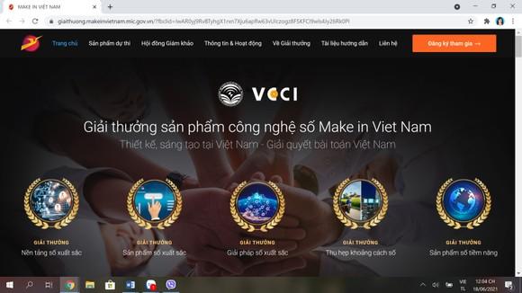 Phát động giải thưởng 'Sản phẩm công nghệ số Make in Viet Nam' năm 2021 ảnh 1