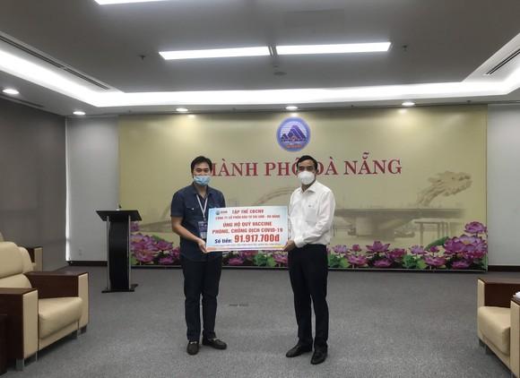 Gần 400 triệu đồng ủng hộ vào quỹ vaccine của TP Đà Nẵng ảnh 1