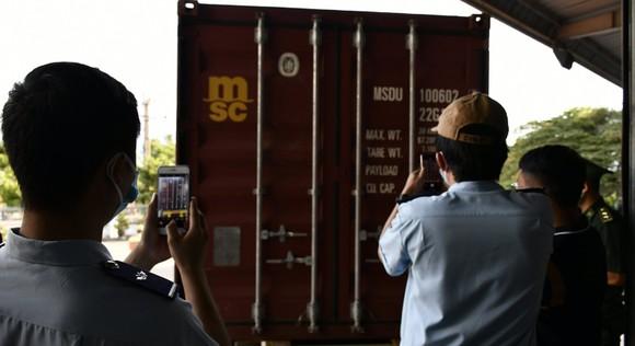Đà Nẵng bắt giữ container chứa sừng tê giác và xương động vật từ Nam Phi ảnh 3