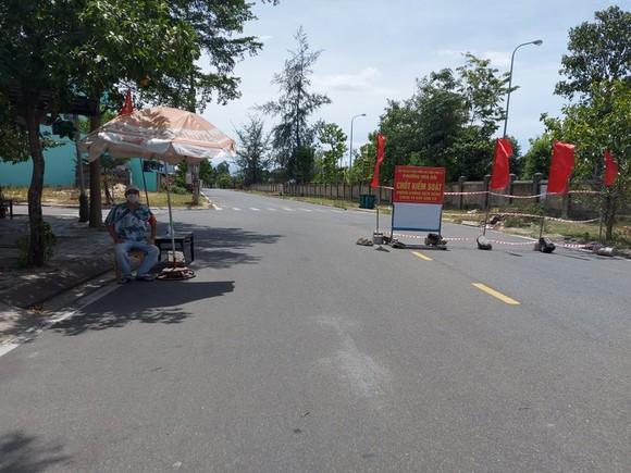 Chốt kiểm soát phường Hòa Hải quận Ngũ Hành Sơn