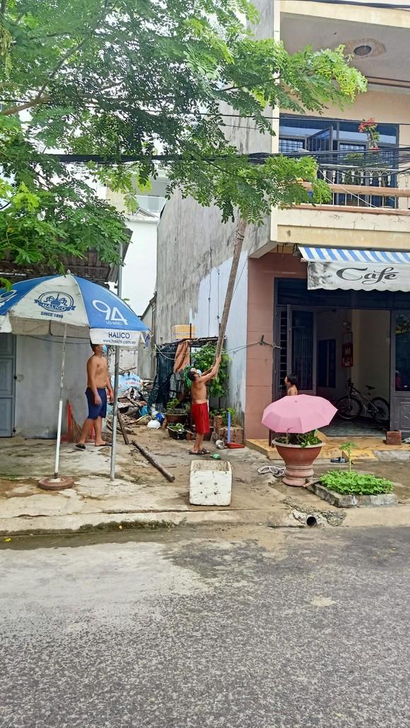 Đà Nẵng: Tất bật chống bão Conson giữa dịch Covid-19 ảnh 11