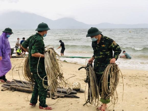 Đà Nẵng: Tất bật chống bão Conson giữa dịch Covid-19 ảnh 3