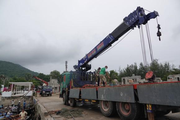 Đà Nẵng: Tất bật chống bão Conson giữa dịch Covid-19 ảnh 4
