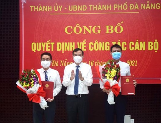 Đà Nẵng công bố các quyết định về công tác cán bộ ảnh 3