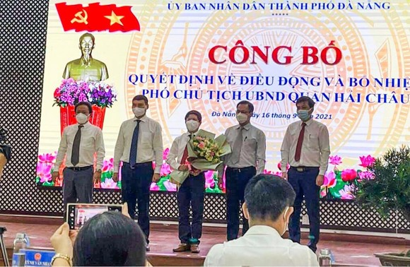 Đà Nẵng công bố các quyết định về công tác cán bộ ảnh 4