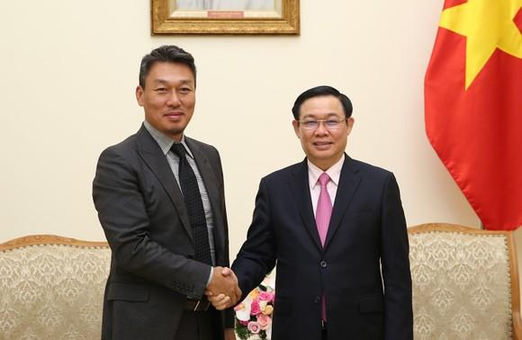 Phó Thủ tướng Vương Đình Huệ hoan nghênh Công ty công nghệ Alliex Hàn Quốc đến Việt Nam đầu tư ảnh 1