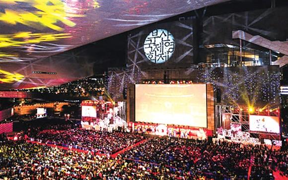 Liên hoan phim quốc tế Busan 2019 thu hút đông đảo giới làm phim. Ảnh: AFP