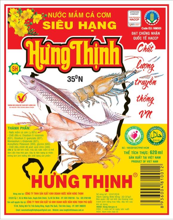 Nước mắm truyền thống Hưng Thịnh: Sánh đậm vị cá cơm - thơm nắng gió ảnh 1
