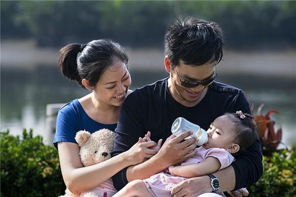 Giải nhất: Cùng chăm con – Đinh Thị Kim Lan (TP HCM)