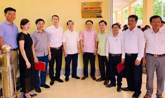 PV GAS tài trợ 5 tỷ đồng xây dựng Trường THCS xã Thanh Tùng, Thanh Chương, Nghệ An ảnh 1