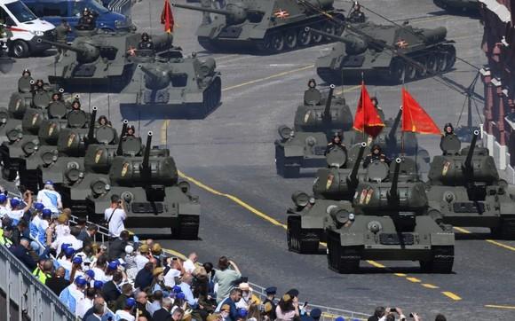 Nga duyệt binh kỷ niệm 75 năm chiến thắng trong Chiến tranh Vệ quốc vĩ đại ảnh 4