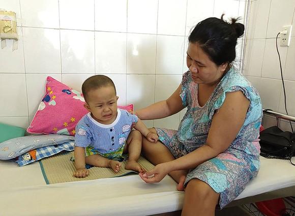 Cháu Nguyễn Tuấn Kiệt bị mắc bệnh ung thư máu cần sự giúp đỡ