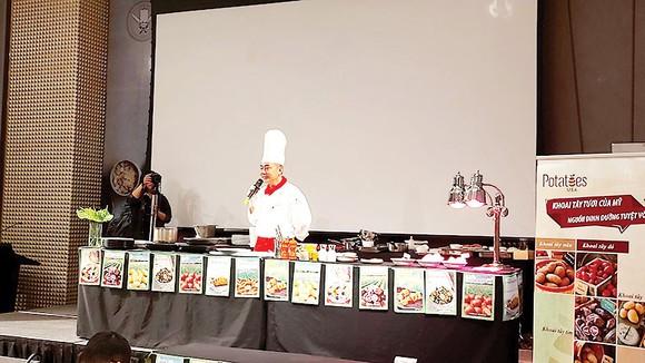 Potatoes USA tổ chức chương trình hướng dẫn nấu ăn cùng siêu đầu bếp