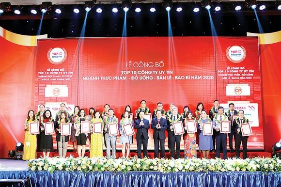 Vedan Việt Nam tiếp tục được vinh danh Tốp 10: Công ty uy tín ngành Thực phẩm - Đồ uống năm 2020 ảnh 1