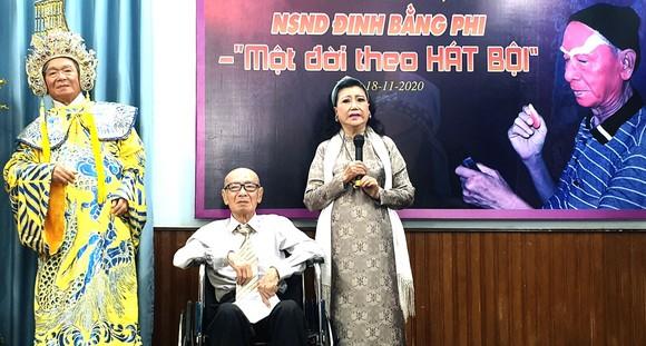 NSND Kim Cương chia sẻ những kỷ niệm trong công việc với NSND Đinh Bằng Phi